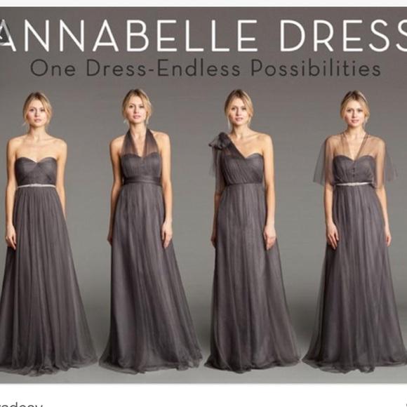 646a260e607 Jenny Yoo Dresses   Skirts - Jenny Yoo Annabelle Convertible Tulle Column  Dress
