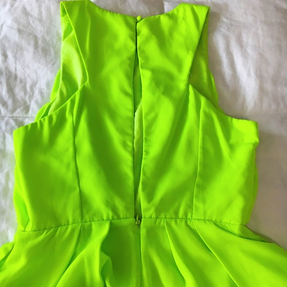 Keepsake Pants - MOVING SALE❗️Keepsake Neon Green Romper