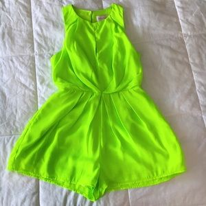 MOVING SALE❗️Keepsake Neon Green Romper