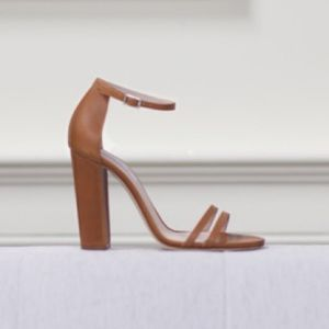 Emerson Fry Shoes - Emerson Fry Thin Strap Heel in Caramello