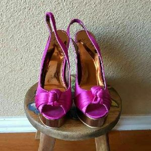 Colin Stuart Shoes - Sexy high heel with platform
