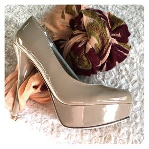 Wild Pair Shoes - Wild pair nude stilettos