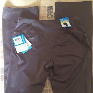 Columbia women's yoga pants small 32 inseam
