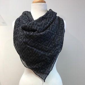 Fendi Accessories - Fendi cashmere and silk shawl stole scarf nwt