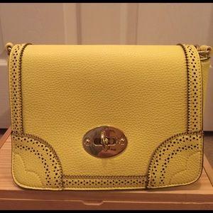 Yellow Charming Charlie crossbody handbag