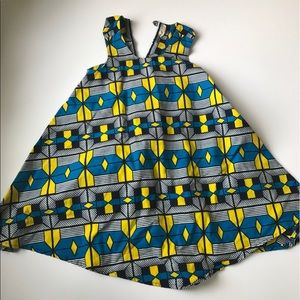 Bapribap African Ankara Wax Print Dress