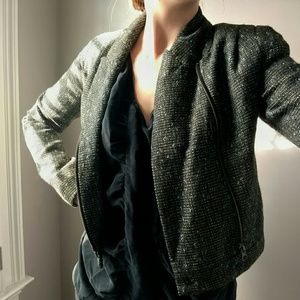 Urban Outfitters Jackets & Blazers - Urban Outfitters Wool Moto Jacket