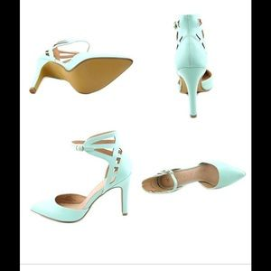 Restricted Shoes - Restricted mint heels