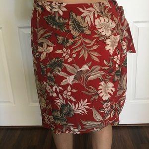 Vintage Hawaiian wrap skirt