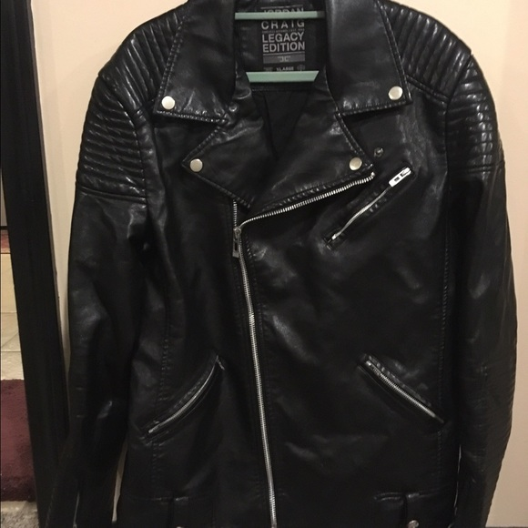 532ebb37ef8 Jordan Jackets & Coats | Craig Leather Jacket Legacy Edition | Poshmark