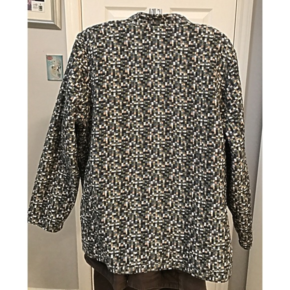 Jackets & Coats - Reversible Mandarin Jacket Size 1X 18