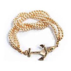 Brooks Brothers Jewelry - Kiel James Pierce pearl stand anchor bracelet