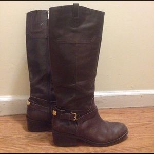 Ivanka Trump Shoes - Brown leather tall boots
