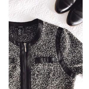 Alfani Jackets & Blazers - Bouclé Gray Jacket