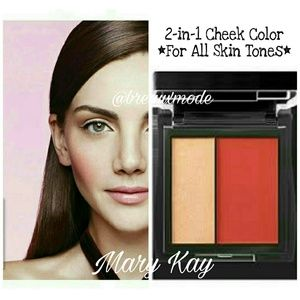 Mary Kay Other - Spiced Poppy - Mineral Cheek Color Duo