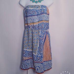 Glamour & Co. Dresses & Skirts - Retro Strapless Dress