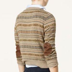 Zara Sweaters - ZARA KNIT PATCH SWEATER