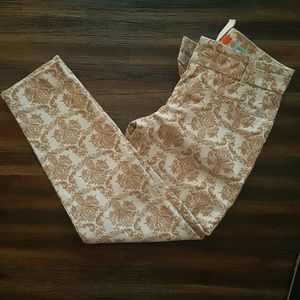 Anthropologie  (Cartonnier) Paisley Pants