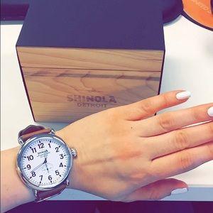 Shinola Accessories - 100% Authentic 47mm Runwell Shinola Watch