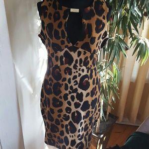 Kardashian Kollection Dresses & Skirts - KARDASHIAN KOLLECTION LEOPARD DRESS