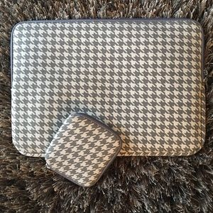 Arvok Handbags - 🛍 Arvok Houndstooth Waterproof Laptop Case Mouse