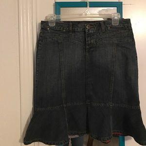 baccini Dresses & Skirts - Denim skirt