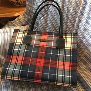 Preston & York Handbags - Plaid Purse by Preston & York. Lots of Room EUC