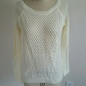 Hippie Rose Sweaters - Pretty Creme Sweater NWOT