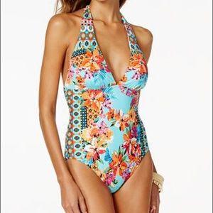 La Blanca Other - La Blanca floral swimsuit