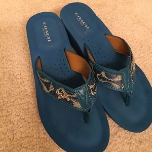 Coach Shoes - Coach Jolene wedges