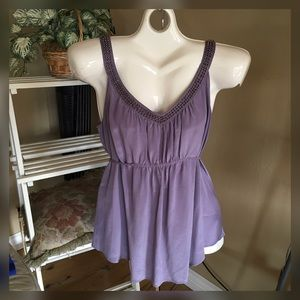 Ecote Tops - Lovely lavender top.