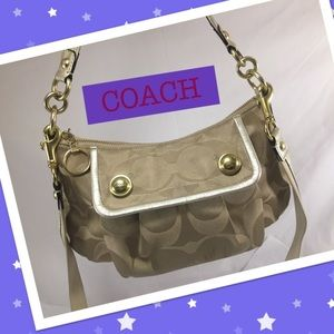 Coach Handbags - COACH Poppy Groovy Crossbody Bag