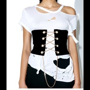 Accessories - Black Corset Belt