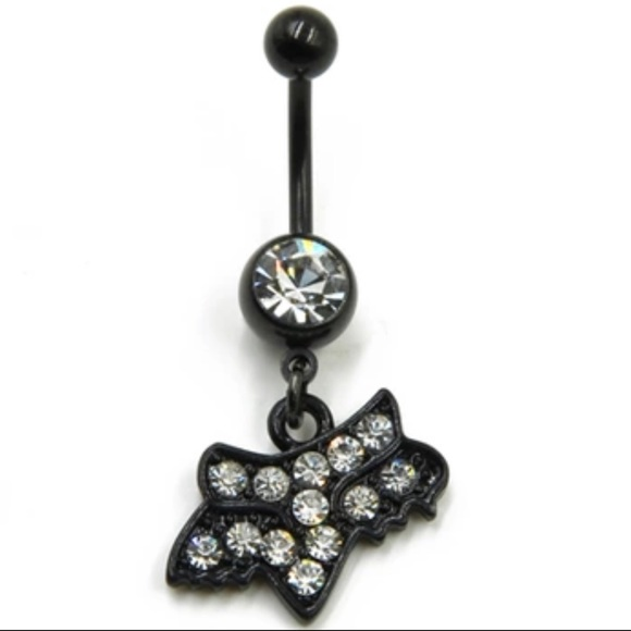 Fox Jewelry Nwt Racing Belly Button Ring Poshmark