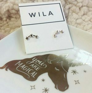WILA Jewelry - Triple Star Earring