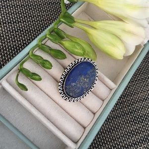 Beautiful Lapis Lazuli Sterling Silver Ring