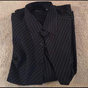 7 Diamonds Other - Black 7 Diamonds button down dress shirt