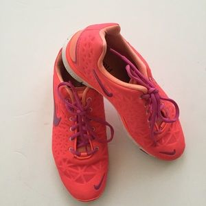 Nike Shoes - Hot Pink Nike Free Sneakers