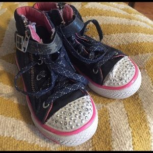 Skechers Other - 💝Skechers Kids Light Up high tops. Size 12