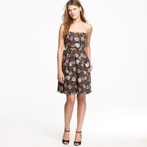 """BNWOT J. Crew """"Marielle"""" solstice floral dress"""