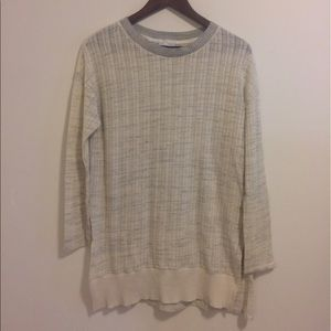 Zara Oversized high low sweater shirt
