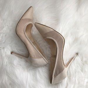 Shoedazzle Shoes - MADISON by SHOEDAZZLE women's cream heel pumps