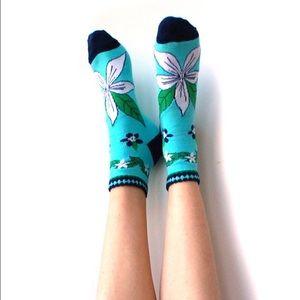 Peony and Moss Accessories - Summer Night's Eve Socks