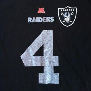 Majestic Tops - NWT Raiders t shirt XL -- David Carr