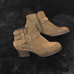 Sonoma Shoes - Brown Booties