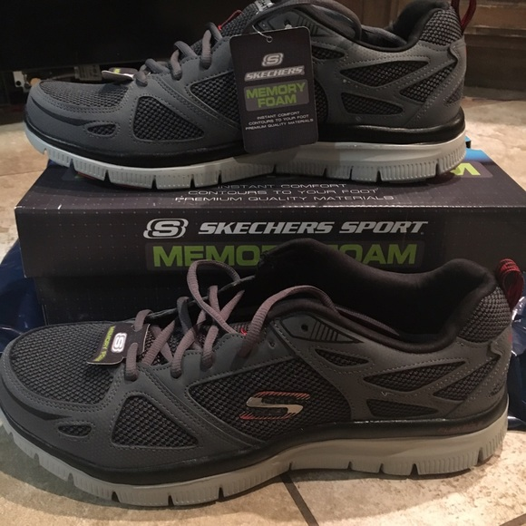 Men'S Sketcher Sport Memory Foam shoes NWT