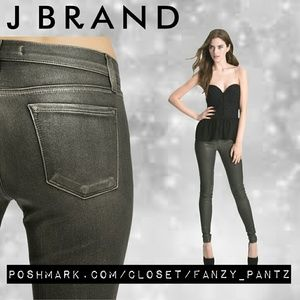 J Brand Denim - 🔹 J Brand Super Skinny Metallic coat jeans