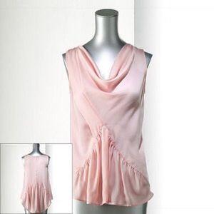 Simply Vera Vera Wang Tops - BNWT Simply Vera drape neck sleeveless blouse top