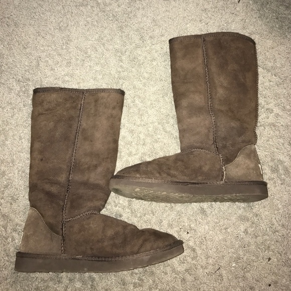 ugg boots brown tall - photo #41