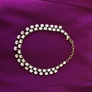 J.Crew Crystal necklace